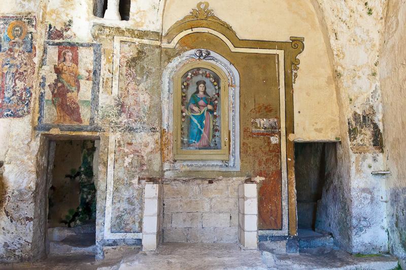 Chiesa rupestre di Santa Lucia alle Malve