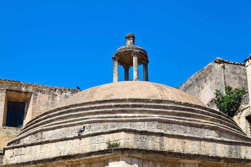 La cupola della chiesa di San Domenico