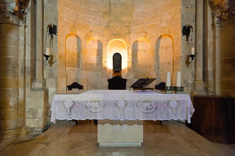 L'altare della chiesa di San Giovanni Battista