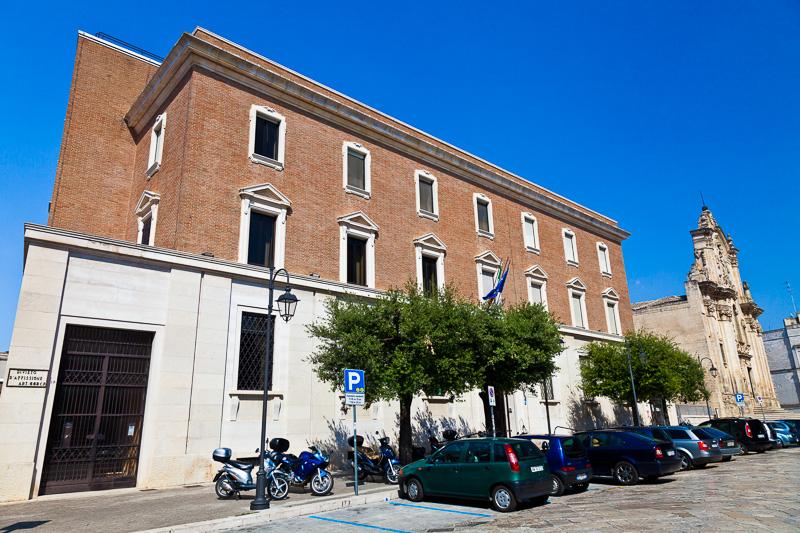 Il palazzo della banca d'Italia
