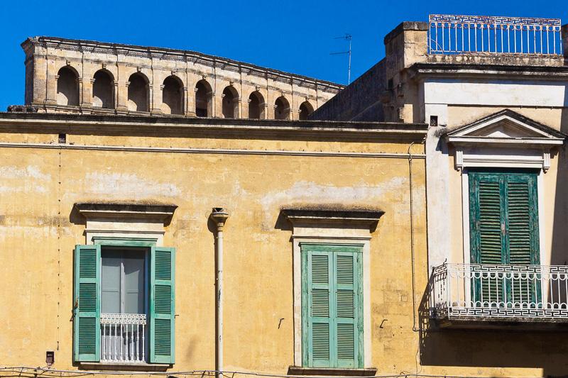Un antico palazzo di piazza del Sedile