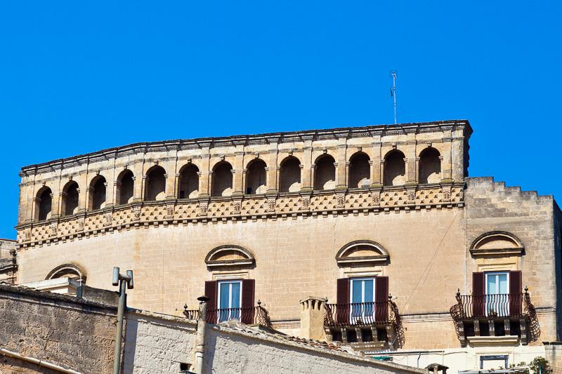 Il palazzo Bernardini