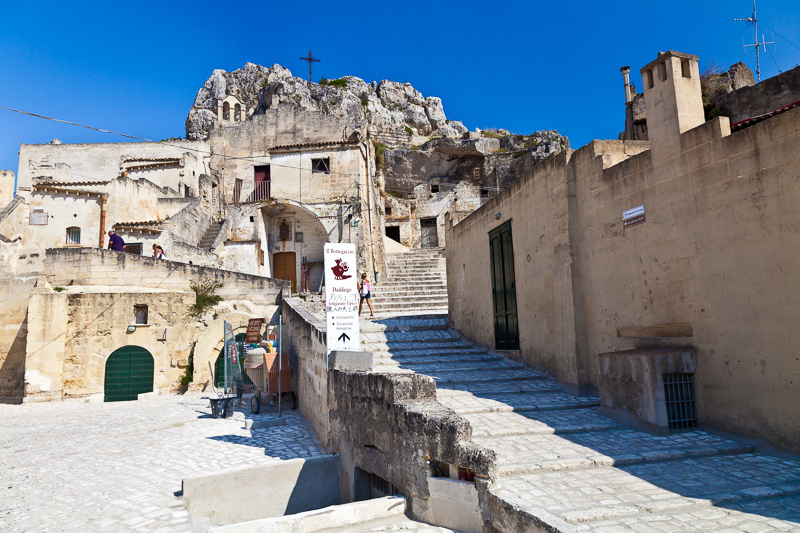La scalinata di via Santa Maria di Idris