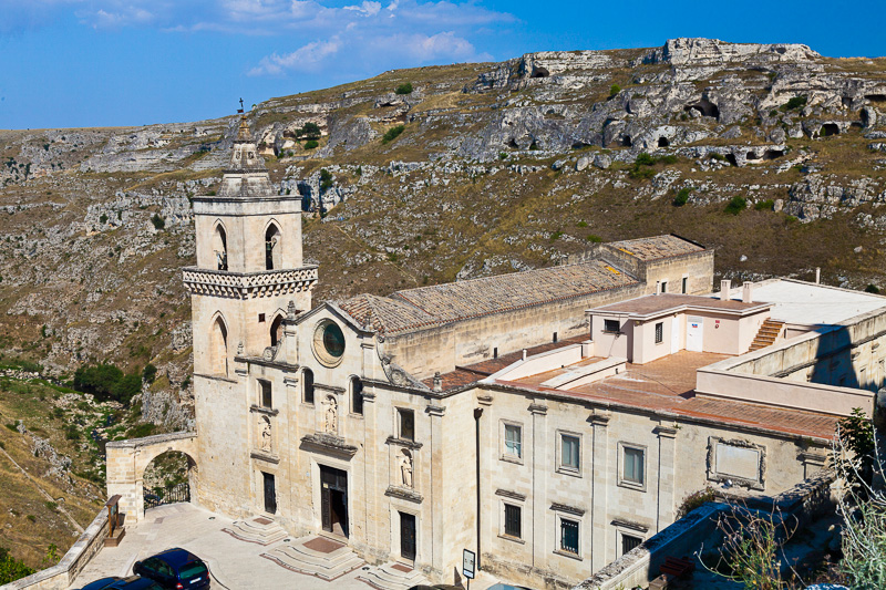 La chiesa di San Pietro Caveoso