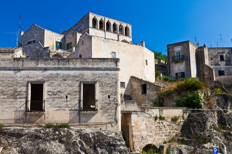 Antiche abitazioni del Sasso Caveoso