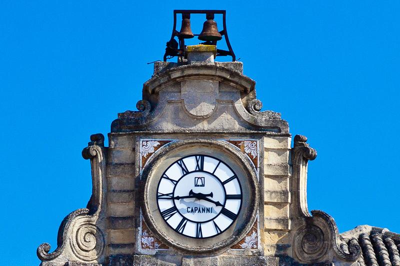 l'orologio di palazzo Lanfranchi