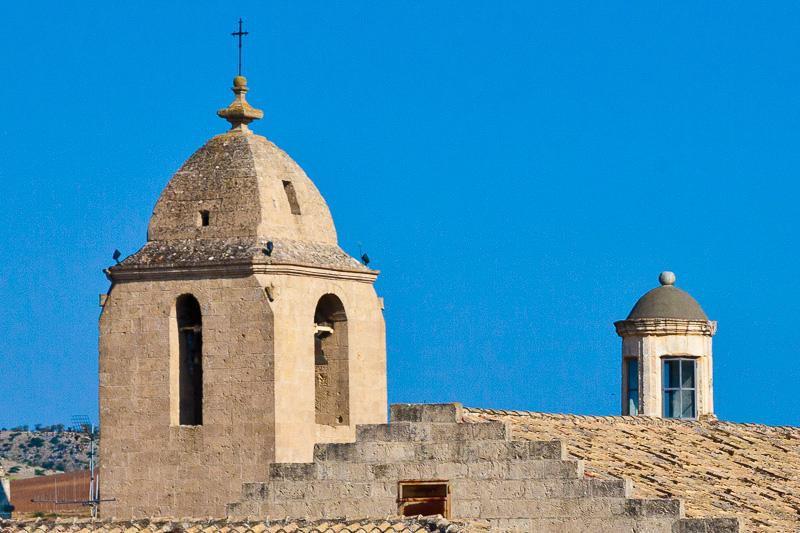 Il campanile della chiesa di Sant'Agostino