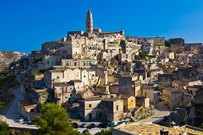 Panoramica di Rione Civita