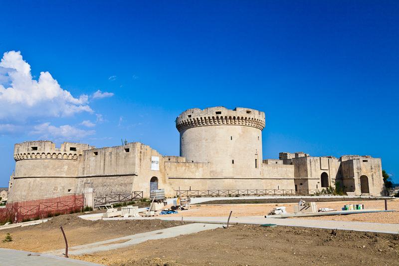 Il castello Tramontano