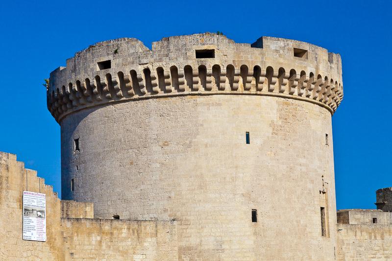 Il maschio del castello Tramontano