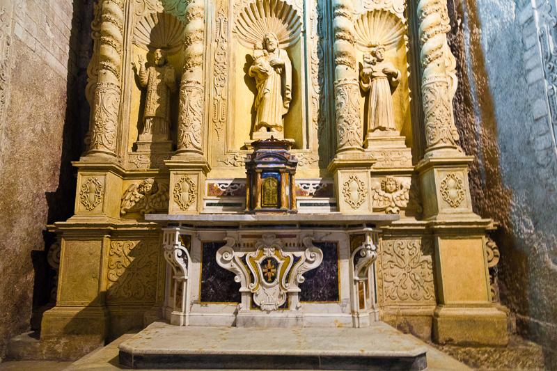 L'altare del Santissimo Sacramento