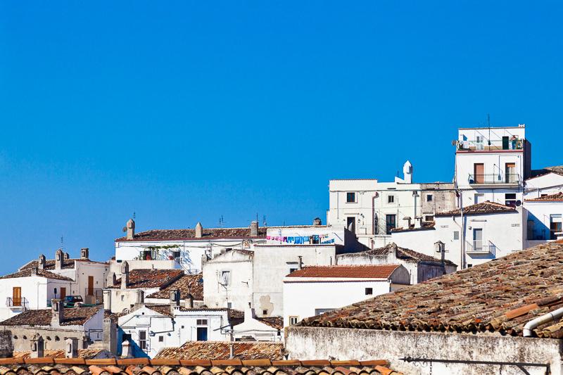 Le abitazioni di Monte Sant'Angelo
