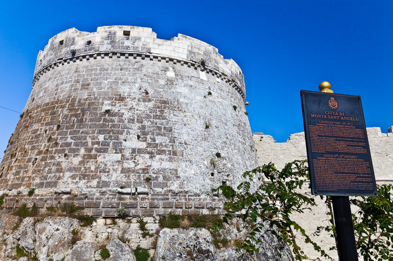 La torre circolare del Castello