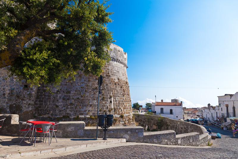 Una torre di difesa del Castello