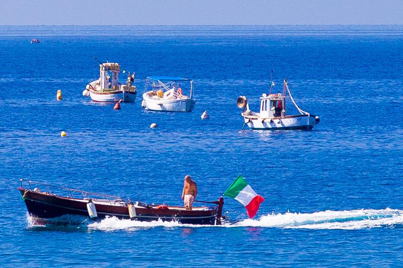 barche di pescatori
