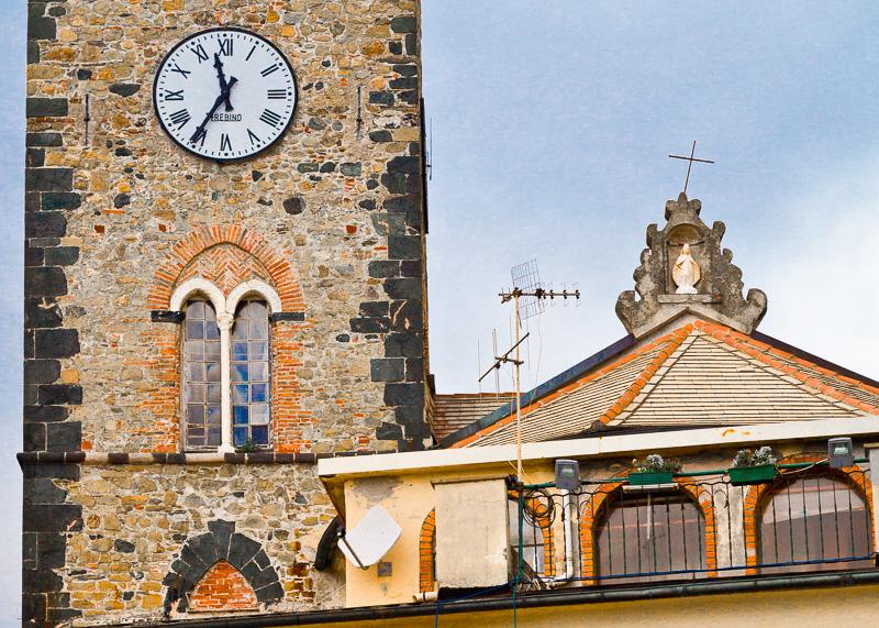 Il campanile della chiesa di San Giovanni Battista