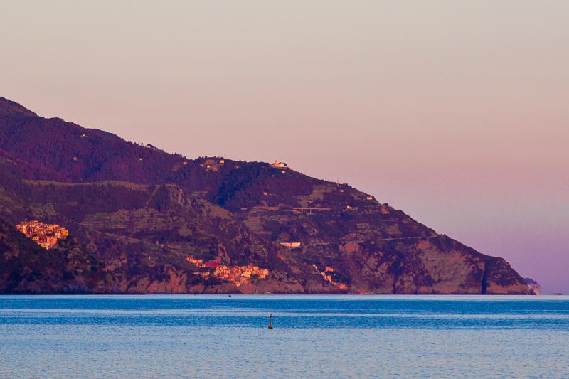 La costiera delle Cinque Terre