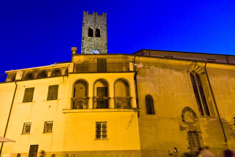 La canonica e la chiesa di San Giovanni Battista