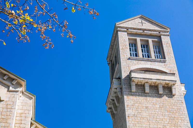 Il campanile del Santuario di Montevergine