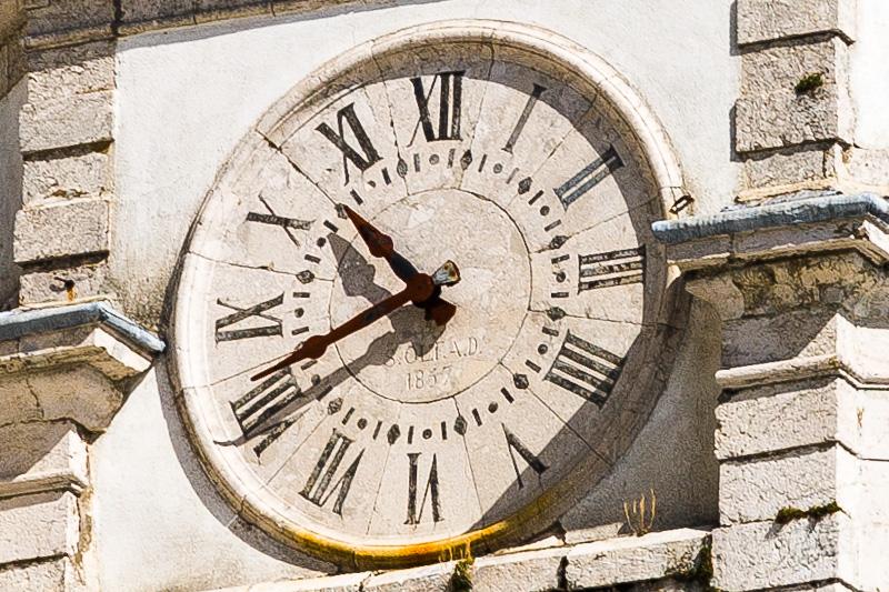 Orologio del vecchio campanile