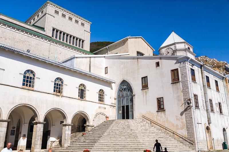 L'antica Basilica del Santuario