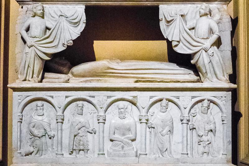 Il monumento funebbre della contessa Caterina Filangeri