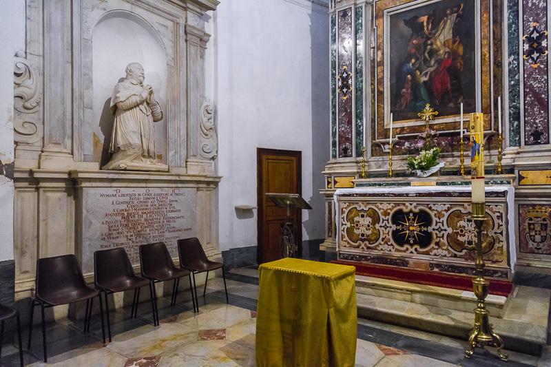 Il monumento funebre a Fabio De Lagonissae