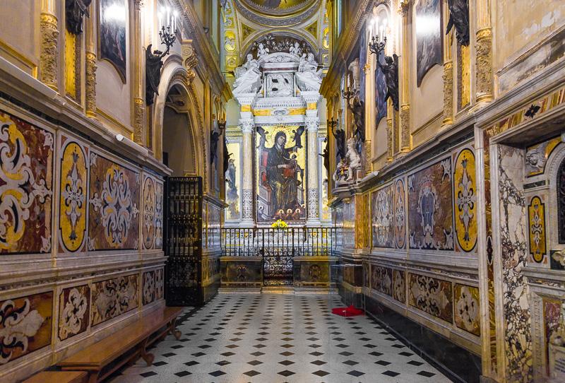 La cappella della madonna di Montevergine