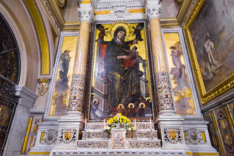 La sacra immagine della Vergine Maria