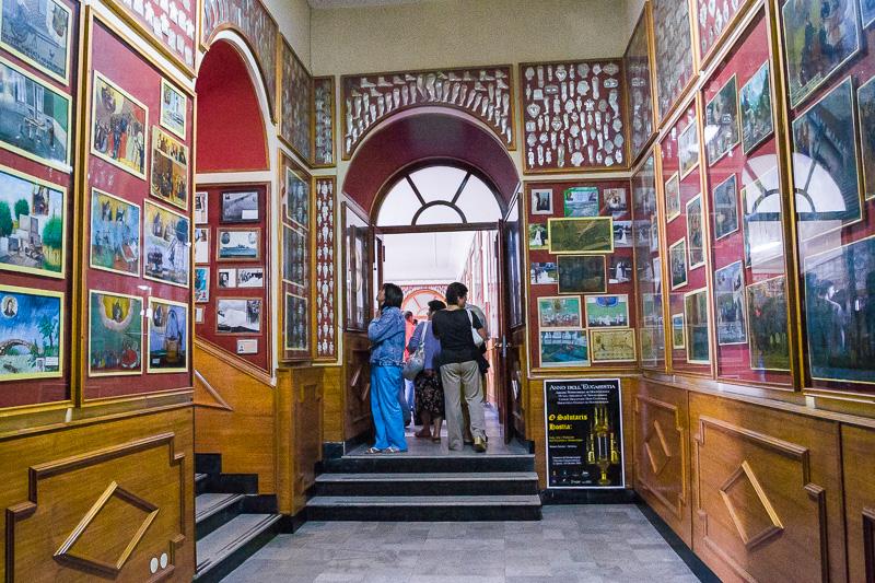 L'anticamera della sala di San Guglielmo