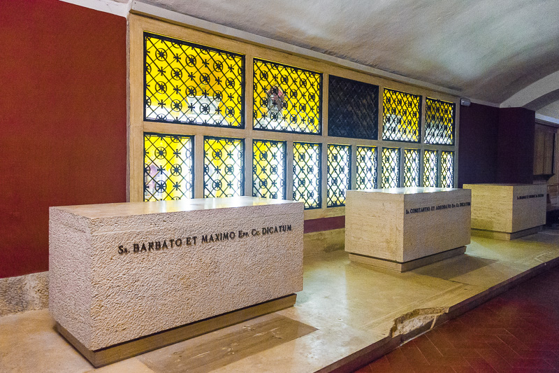 La cripta di San Guglielmo