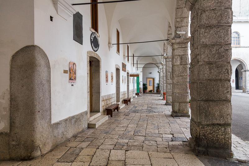 Cortile interno del Santuario