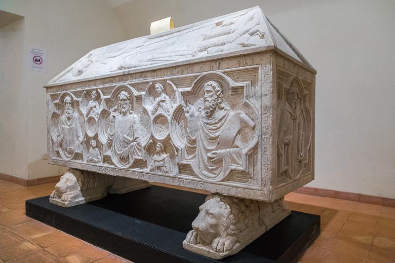 Il sarcofago di Bertrando Lautrec