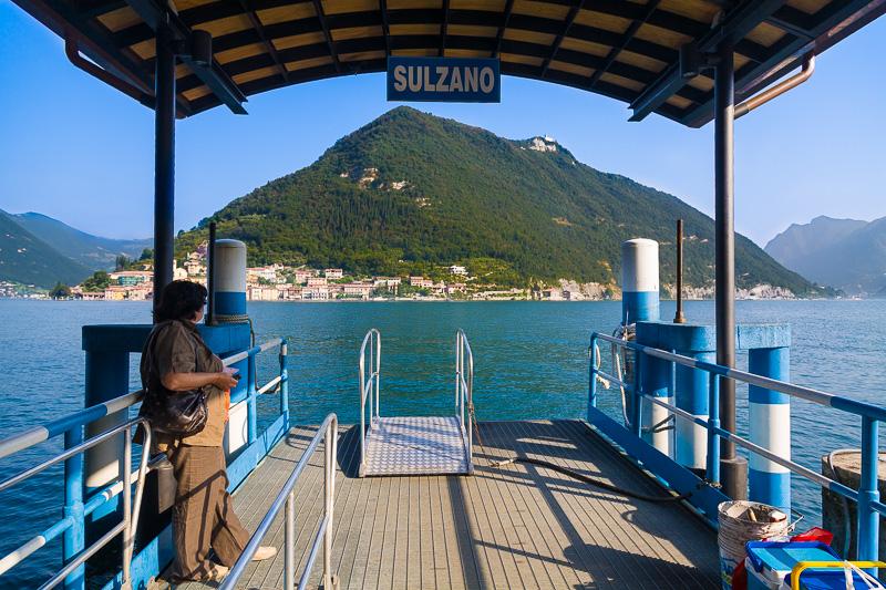 Il porto di Sulzano