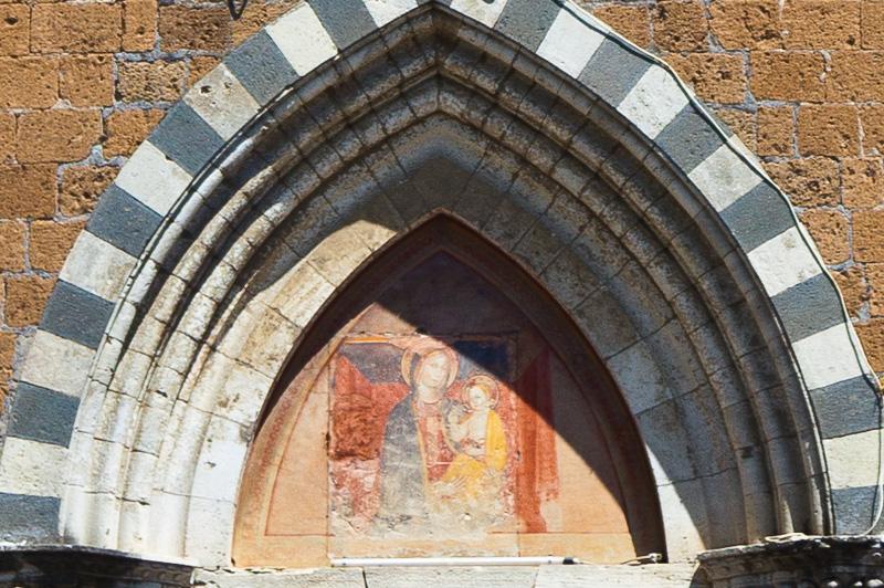Il dipinto della Madonna