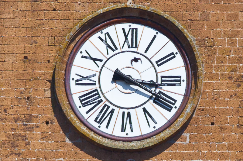 L'orologio della Torre del Moro