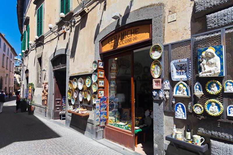 Image result for foto via principale di orvieto