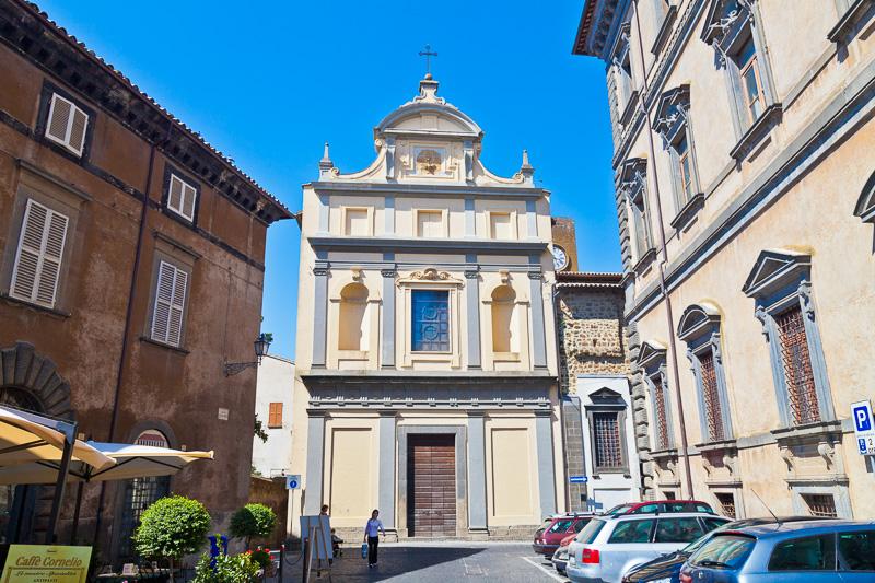 La chiesa dei Santi Giuseppe e Giacomo degli Scalzi