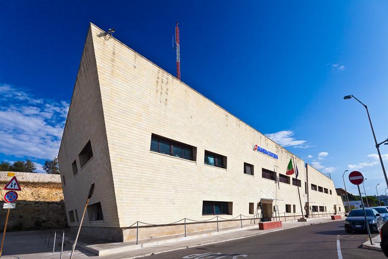 Il palazzo della Guardia Costiera