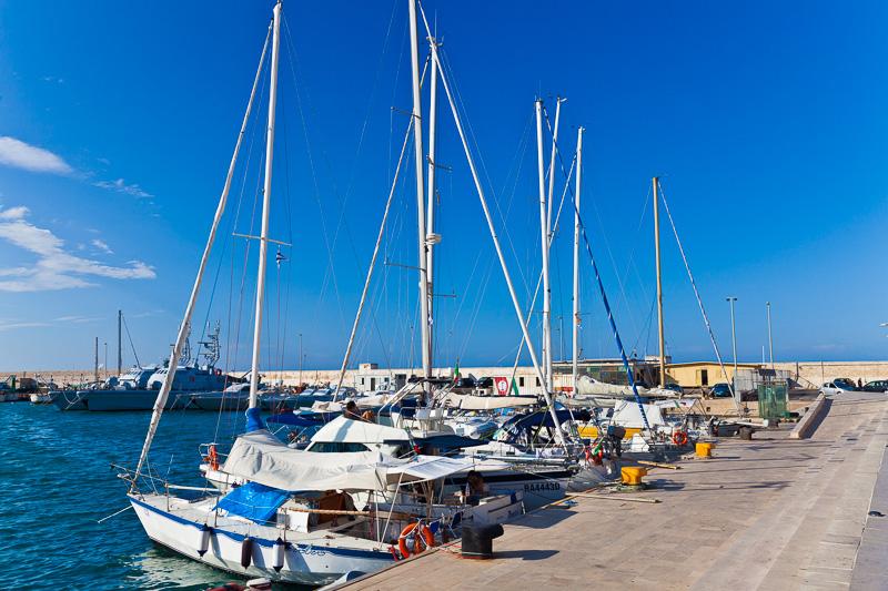 Il molo del porto