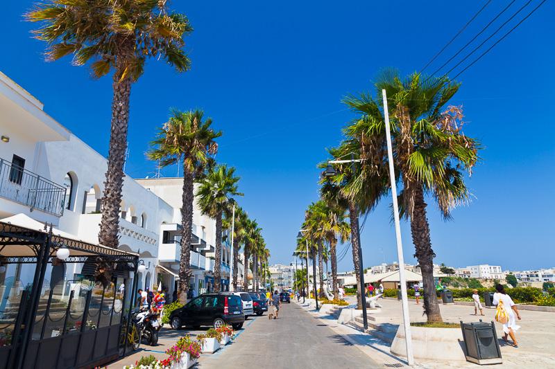 Il lungomare Terra d'Otranto