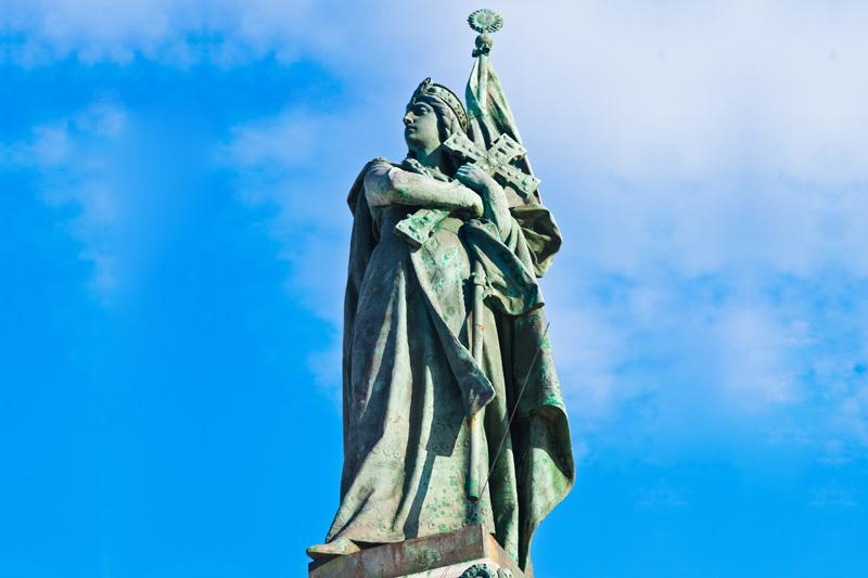 La statua dedicata ai Martiri di Otranto