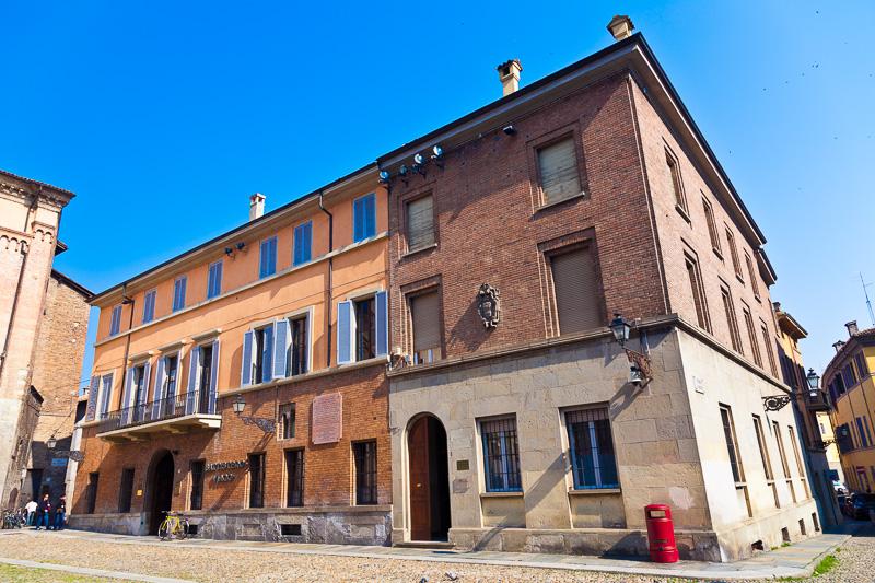 la casa paterna dove visse Giuseppe Micheli
