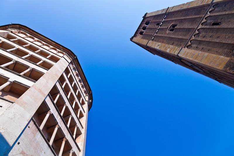 Il battistero e alla il campanile del Duomo