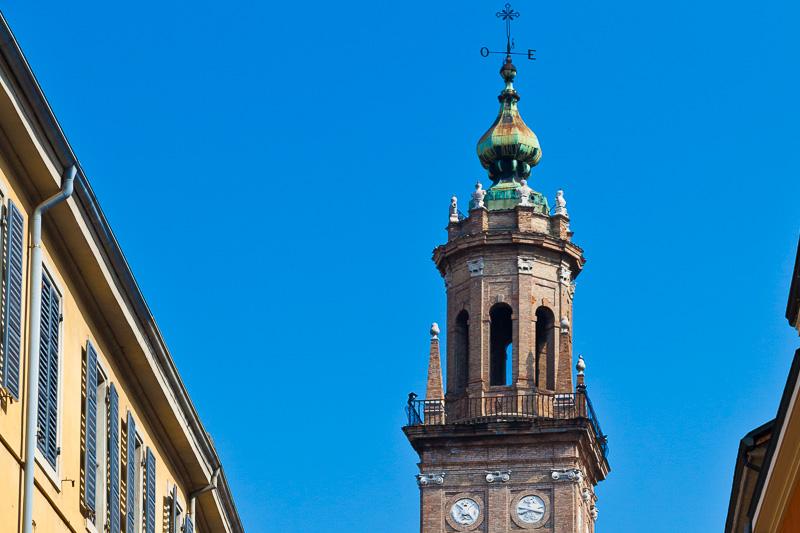 Il campanile della chiesa di San Paolo
