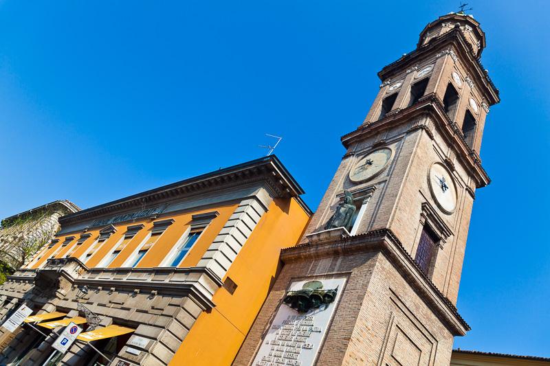 La torre della chiesa di San Paolo