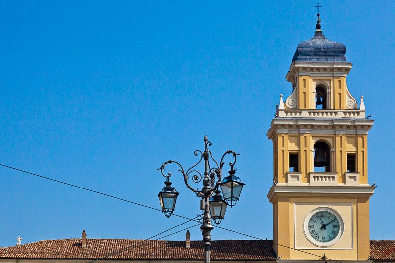 La torre del Palazzo del Governatore