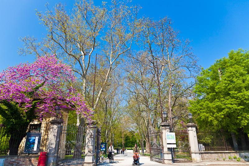 Ingresso del Parco Ducale