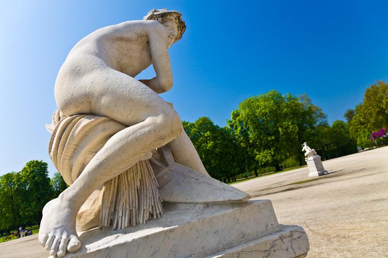 """La scultura in marmo di Carrara """"Vertumno"""""""