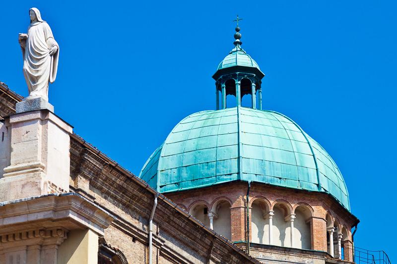 La cupola della chiesa di San Giovanni Evangelista